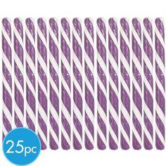 Purple Candy Sticks 25pc