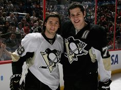 Letang and Geno at the All Star Game.  Looking good!! :)