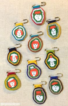 刺繍:ブローチたくさん| ウーマンエキサイト みんなの投稿