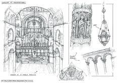 Sketchbook Architecture 6 by yongs on deviantART