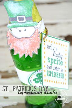Leprechaun drink cover St Patrick's Day