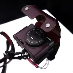 Gariz: Sony RX 100 leather camera case