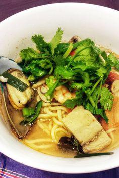 Seafood Tom Yum Ramen...Yum!