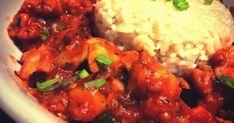 Ha szeretitek a kínai fogásokat, mindenképpen el kell készítenetek néhányat otthon is. Megéri, és nem is bonyolultak, nyugalom! China Food, Wok, Chana Masala, Tandoori Chicken, Meat Recipes, Chicken Wings, Bacon, Food And Drink, Rice