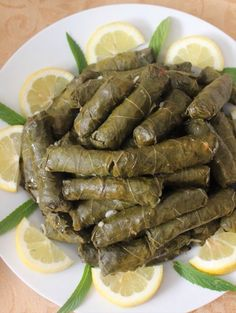 Turkish Sarma | Dolma Stuffed Grape Leaves