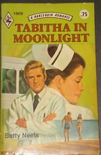 Vintage Harlequin Romance, 1905, Tabitha In Moonlight, Betty Neels