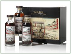Rare Japanese Whiskies Go On Auction In Hong Kong: Karuizawa Honor Sumo Triple Set #whisky