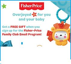 Fisher Price Family Club Program: Get FREE Toy with Newsletter sign-up - Email Programs, Fisher Price, Free Samples, Free Gifts, Sign, Free Stuff, Club, Toys, Activity Toys