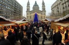 Budapest Christmas Market Tour with Wine Tasting Revel in Budapest's Christmas traditions as you visit some of the top city sights such as Andrássy Boulevard, the Opera House and St Stephen's Basilica. After your guided walking tour, visit the biggest Budapest Christmas market to find Hungarian handicrafts, trinkets and souvenirs. If all that shopping and walking makes you thirsty, enjoy complimentary wine tastings in a private cellar, or purchase sweets from popular vendors a...