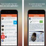 Lapp KultureGeek pour iPhone/iPad compatible avec iOS 11 une version 1.1 bêta pour lapp Android