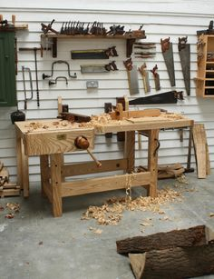 Traditional Workbench Woodworking Plan Http Www