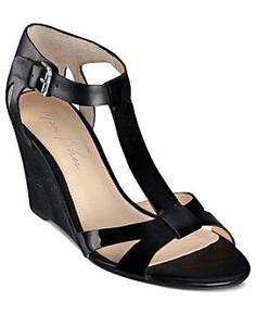 Marc Fisher Shoes, Bulan Wedge Sandals. Macys.com.  Web ID: 815878 $79