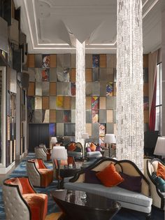 Housed in Ciputra World 1, the tallest tower in the Indonesian capital of Jakarta, the Raffles hotel is centered on a theme of art.