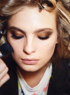 ✕ I always love this image / #beauty #makeup #bronze