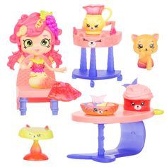 Happy Places Shopkins Mermaid Tails Surprise Me Pack - Dive In Dining : Target Kawaii Crush, Shoppies Dolls, Shopkins Happy Places, Mermaid Toys, Best Electric Scooter, Surprise Gifts For Him, Baby Alive, Monster High Dolls, Toys For Girls