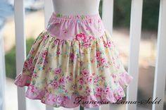 Ruffled Twirl Skirt Size 3T  fits also size by francoiselamasolet, $42.00