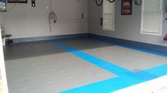 Garage Pic from customer! #GarageFlooring