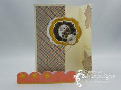 cartes dépliables, thinlits, jardin de papier, Stampin'UP!