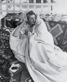 The English writer Lesley Blanch
