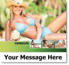 promo calendar printing Bikini