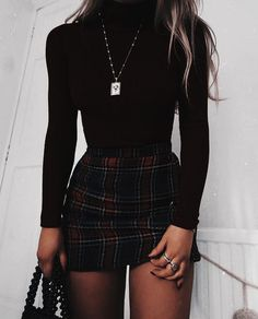 She was not born cold-hearted. Far away from people. Frozen and isolated Outfits 2019 Outfits casual Outfits for moms Outfits for school Outfits for teen girls Outfits for work Outfits with hats Outfits women Cute Casual Outfits, Edgy Outfits, Mode Outfits, School Outfits, Black Outfits, College Outfits, Cute Outfits With Skirts, Cute Dress Outfits, Denim Skirt Outfits