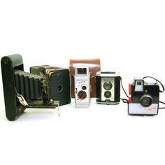 Vintage Camera Set III