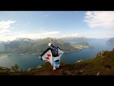 GoPro Wingsuit Base Jumping in Norway with GoPro Bombsquad Gopro 3d, Buy Gopro, The Art Of Flight, 3d Camera, Weird Gif, Base Jumping, Gopro Hero, Extreme Sports, Underwater