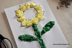 girl scout crafts for daisies   Easy Daisy Girl Scout Crafts http://athomewithginac.blogspot.com/2013 ...