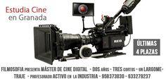 Máster de Cine. 2 años. En Granada.  http://www.filmosofia.com/master-cine.html