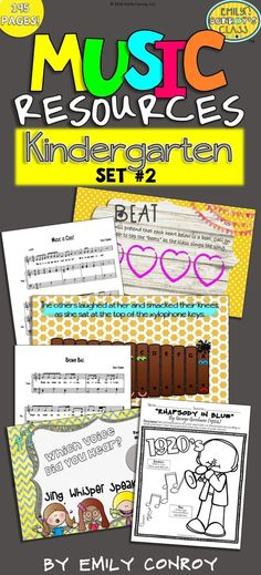 Kindergarten Music R