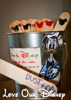 Love Our Disney: Craft Time- Disney Chore Bucket
