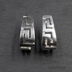 Greek Jewelry, Coin Jewelry, Jewelry Art, Athena Symbol, Art Necklaces, Infinity Symbol, Geometric Necklace, Greek Key, Photo Jewelry