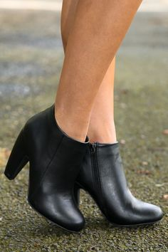 """Let it be known, if someone wants to """"Persuade Me"""" then they had better bring their """"A"""" game! Let them leave nothing to chance as they did not bring along facts and data, but this """"Suede"""" bootie that has everything that you could want and need for the season ahead! Sure to keep you on your heel rather than your toes, let's be honest, this bootie had you on its side from the moment you saw it! Suede bootie with a side zipper. All manmade materials. Made in China. **RDB stylist recommends…"""