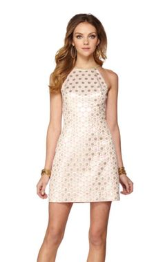 193a5904839 Pearl Halter Shift Dress Lilly Pultizer, Resort Dresses, Pearl Dress, Dress  Lilly,