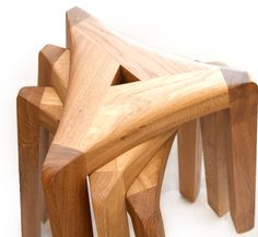 These wooden stools are light and easy to stack aside. minimi's are perfect to kitchen and dining room.
