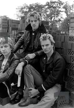 The Police! Sting is so cute!!