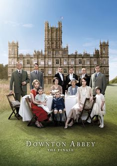 The kettle's on and scones are baking for tonight's Downton Abbey series finale! So bittersweet!