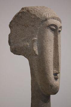 Head of a Woman by Amedeo Modigliani                                                                                                                                                     Más