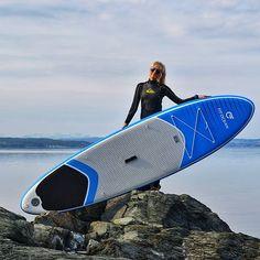 Bild könnte enthalten: Himmel, im Freien, Natur und Wasser Inflatable Sup Board, Kayak Seats, Sup Accessories, Standup Paddle Board, Paddle Boarding, Surfboard, Kayaking, Surfing, Bucket