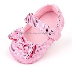 ea0aefc73345 Pink Mary Jane Toddler Baby Girl Wedding Party Shoes Newborn to 18 Months
