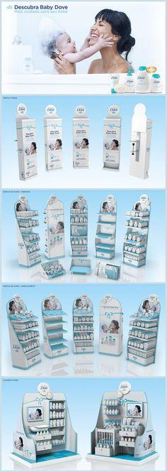 Lançamento Baby Dove - MPDV on Behance: