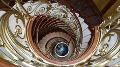 Superyacht staircases #yacht #superyacht #megayacht #yachtdesign #design #staircase #interiordesign #yachtinteriors by yacht_interiors