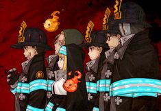 "A new PV for the TV anime ""Fire Force"" is now available. A New trailer for the TV anime show adaptation for Atsushi Ohkubo (Soul Eater)'s dark battle fanta Soul Eater, Soul And Maka, Anime Manga, Anime Art, Shinra Kusakabe, Anime Soul, Another Anime, Fan Art, Hayao Miyazaki"
