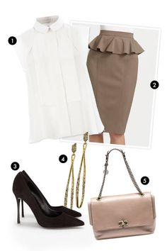 Fashion-forward neutrals - outfit inspiration for the banker