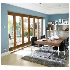 Jeld Wen Slide U0026 Fold Patio Door Set Oak Veneer 4794 X 2094mm