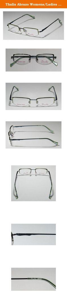ef1496cc9b37 Thalia Abrazo Womens Ladies Ophthalmic Latest Season Designer Half-rim  Spring Hinges Eyeglasses