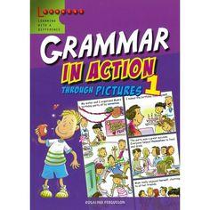 GRAMÁTICA EN ACCIÓN,serie de tres libros, especialmente escrita en respuesta a la renovada importancia educadores sobre la enseñanza de la gramática en las escuelas.