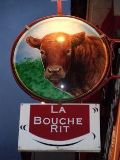 Le Puy-en-Velay : Boucherie