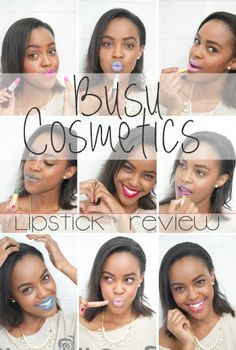 Busu Cosmetics Lipstick Review This Is Ess Beauty COVER