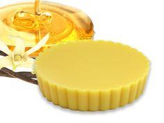 Regenerujący balsam w kostce - Wanilia / Miód w Subtle Beauty na DaWanda.com